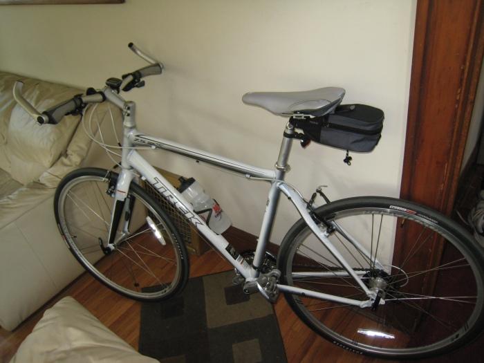 Bike with handle bar upgrade