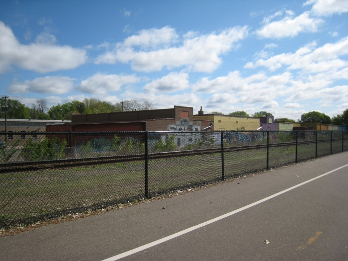A view from the Minneapolis Greenway Trail