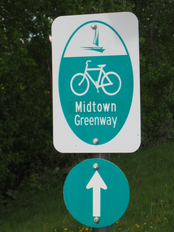 Midtown Greenway Sign