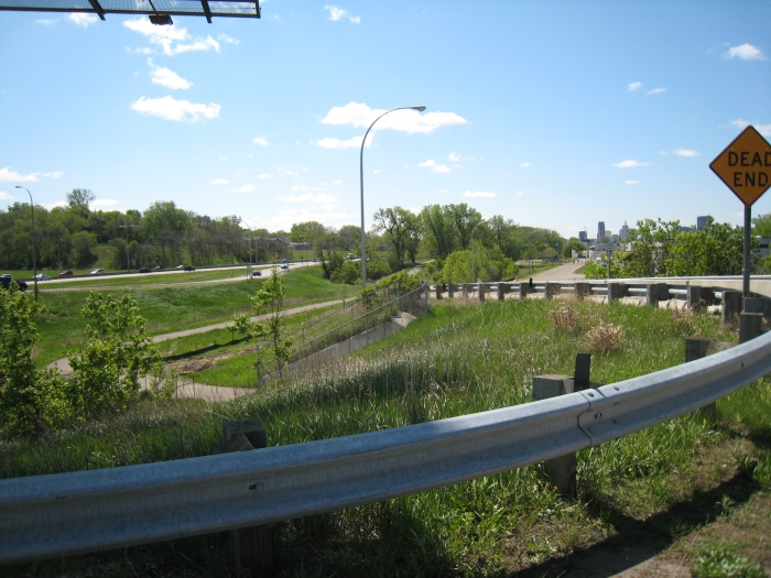 Picture of part of the Gateway Trail