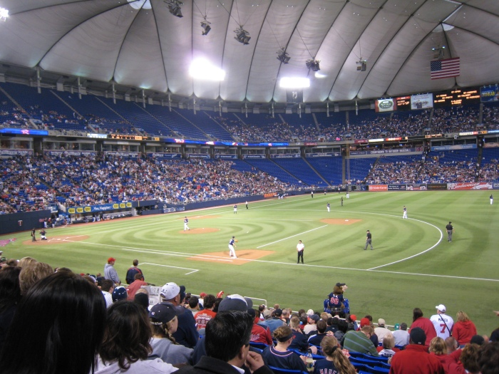 View of the Stadium from the first base side